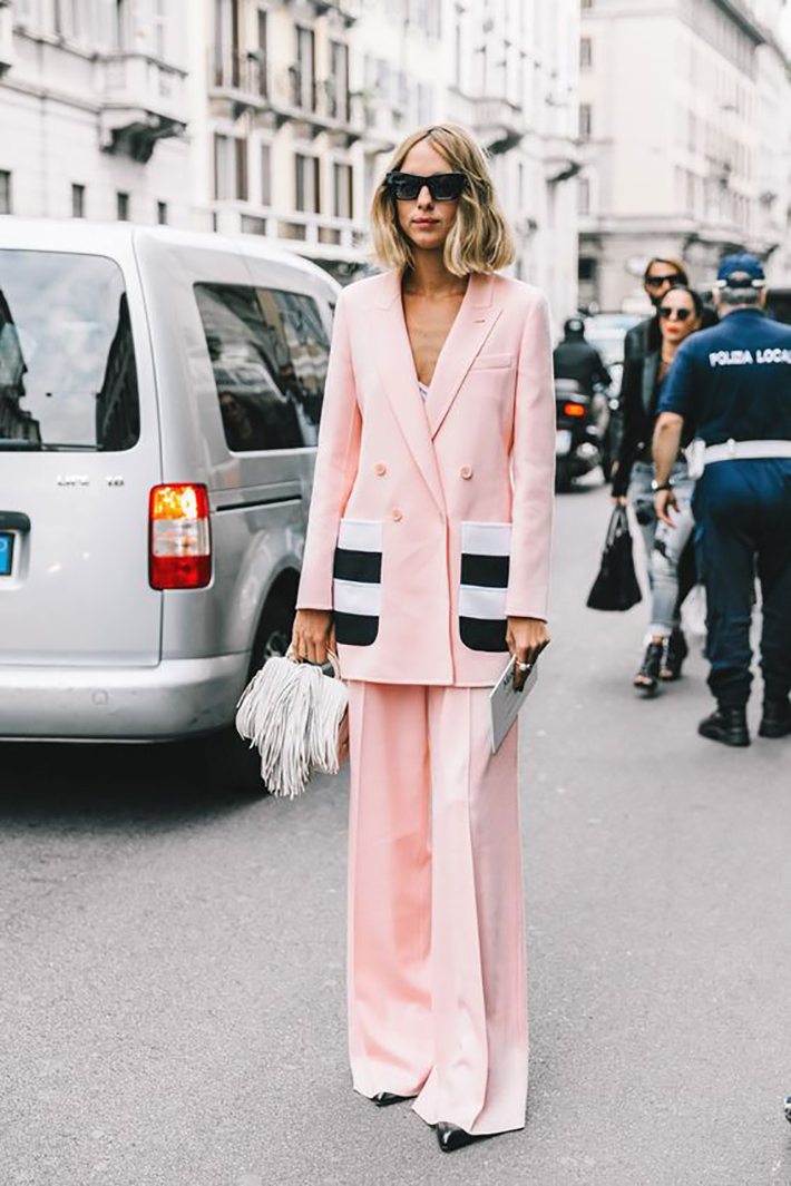 spring pink outfits inspiration accessories fashion trend style3