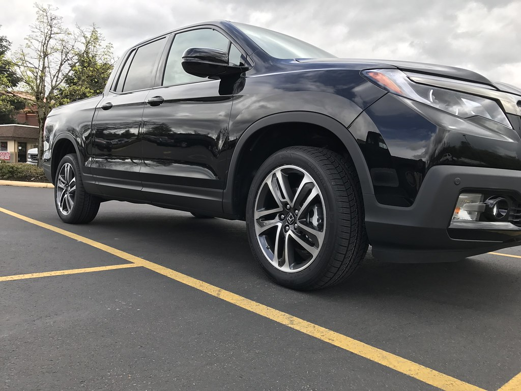 "2017 Black Edition with 20"" MDX wheels - Honda Ridgeline ..."