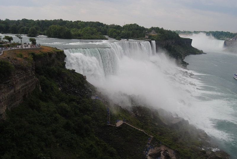 Niagara Falls from Observation Tower