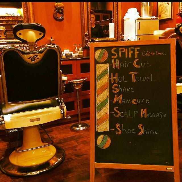Cigar Inn & Spiff for men Grooming ,Store in Store Debuts