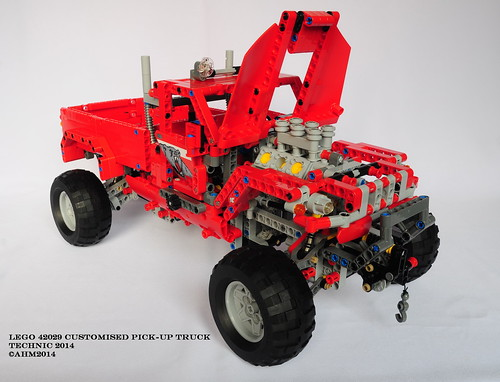 lego technic 42029 customised pick up truck lego technic. Black Bedroom Furniture Sets. Home Design Ideas