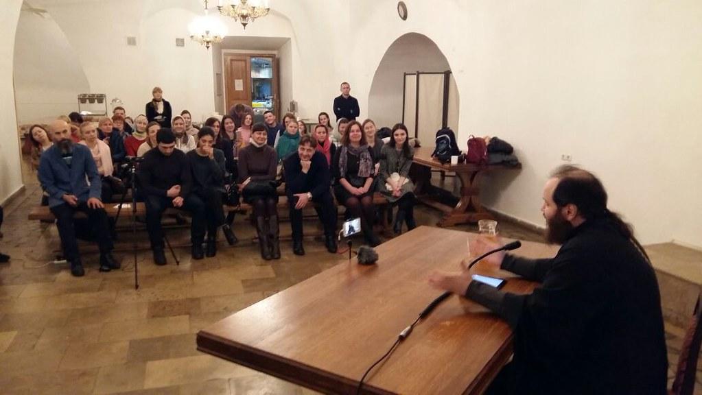 Состоялась встреча православной молодежи со священником Павлом Островским