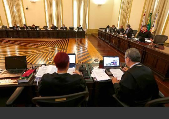 Juiz de Faro é removido pelo Tribunal de Justiça para Terra Santa, Reunião do Pleno do TJ do Pará