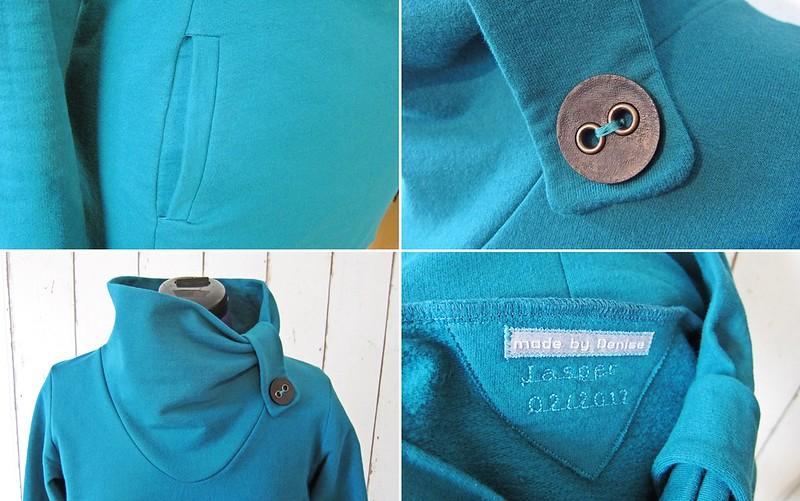 Goldengelchen Jasper Sweater Details