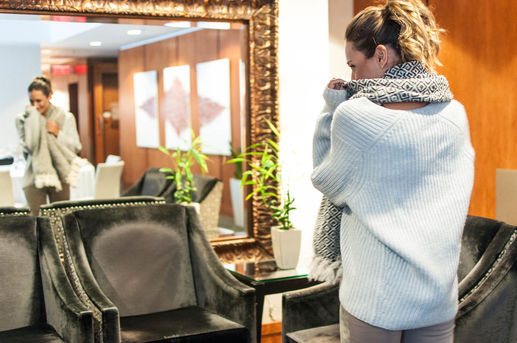 foulard hiver