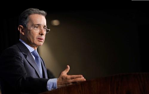 Senador y expresidente Álvaro Uribe