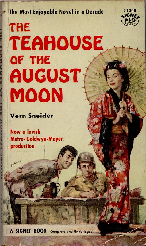 The Teahouse of the August Moon - Book Cover 1