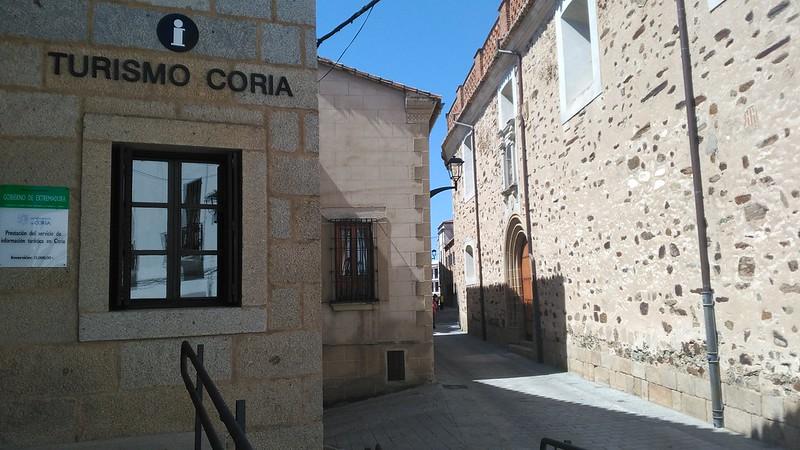 Un año más Coria ha sido el destino elegido por los turistas en Semana Santa 2017