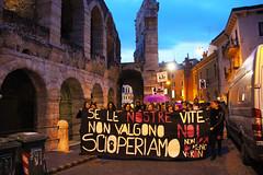 Non una di meno a Verona