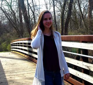 Isadora's senior pictures