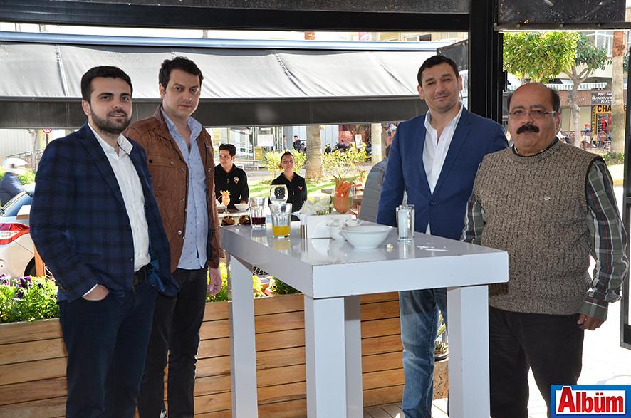 Mustafa Demir, Erhan Akış, İbrahim Ertuş, Hayati Bora