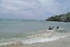 Sibale island - Sampong Gui-ob beach waves