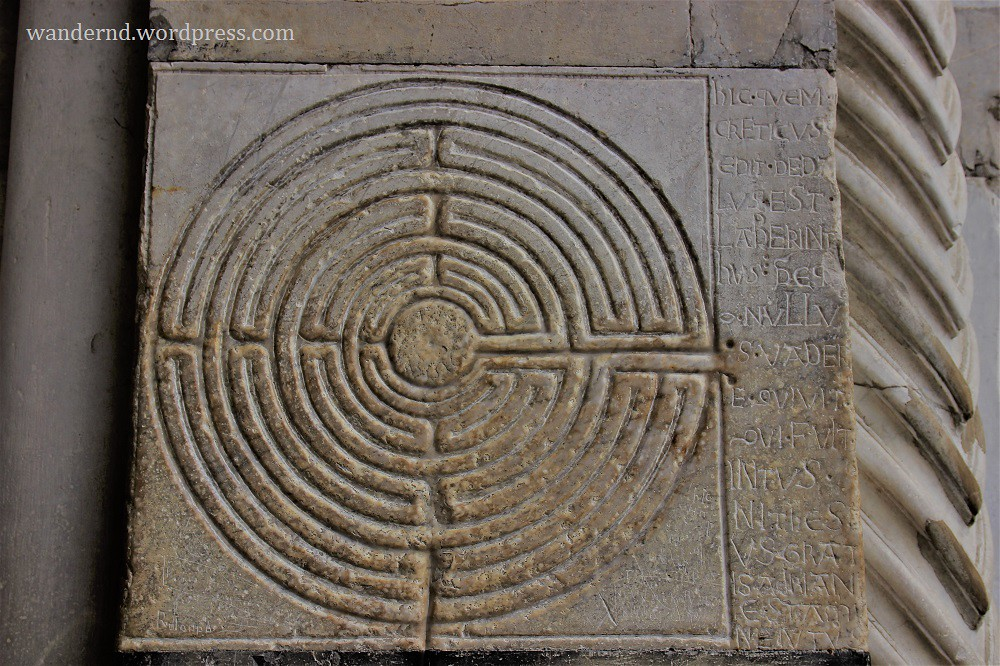 Lucca Duomo Labyrinth