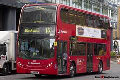 Alexander Dennis Trident Enviro 400 - LX61 DFN - 12135 - Stagecoach - London - 140926 - Steven Gray - IMG_0139