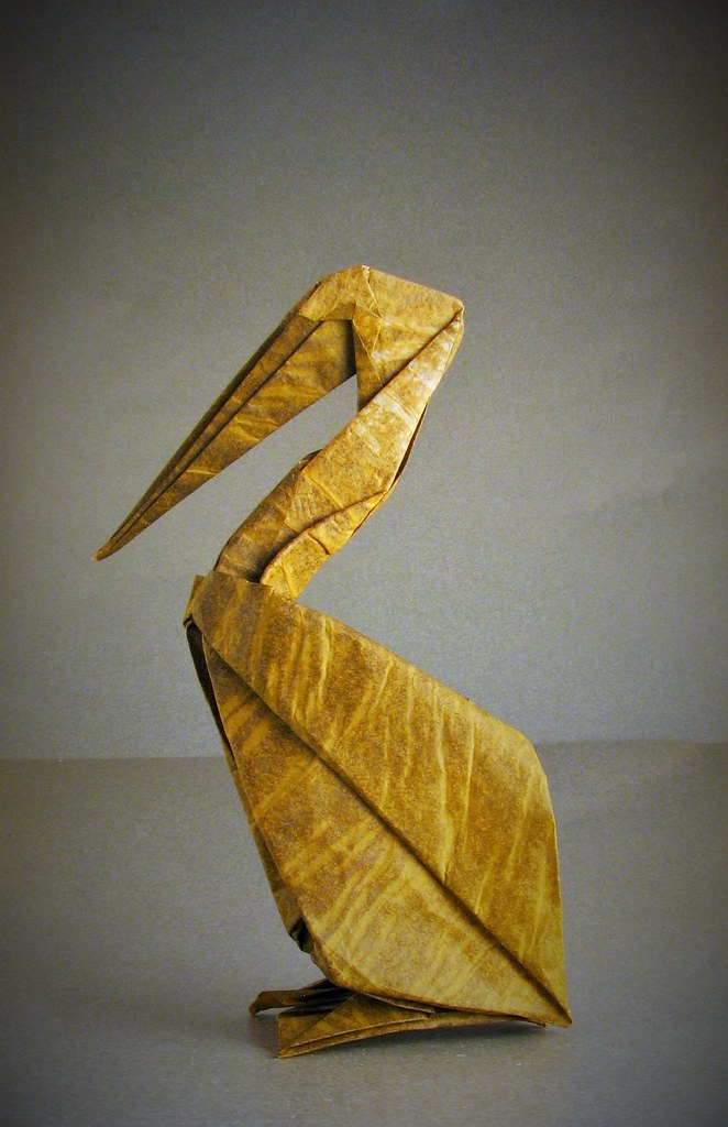 Origami Brown Pelican Origami Brown Pelican Designed By Ho Flickr