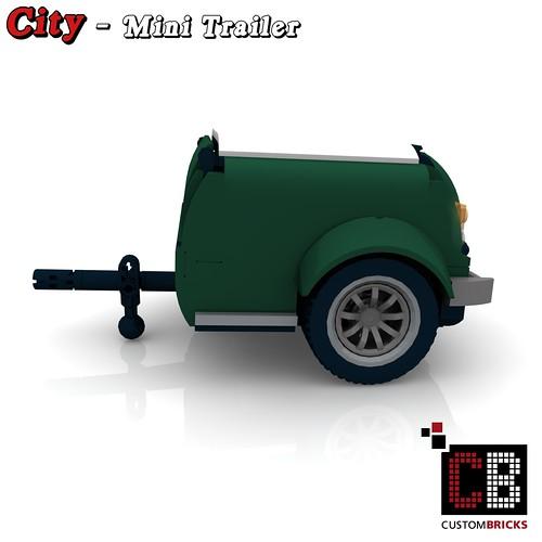 lego custom mini cooper anh nger trailer for 10242 cb1 flickr. Black Bedroom Furniture Sets. Home Design Ideas