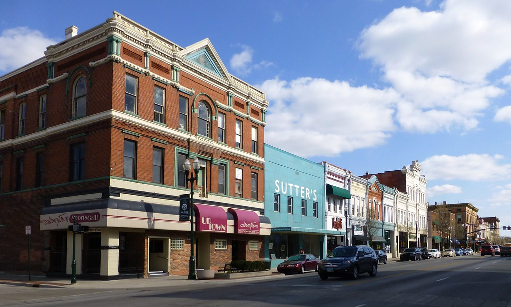 Bowling Green Oh Main Street Historic District Found In T Flickr