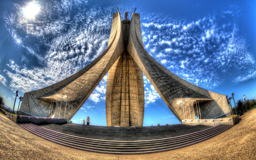 Martyrs' Memorial, Algiers - Wikipedia