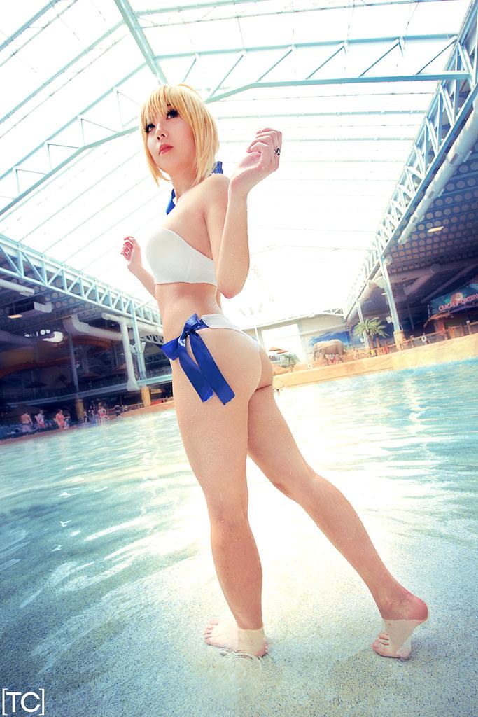 colossalcon saber cosplayer rundevinrun tonicnebula flickr