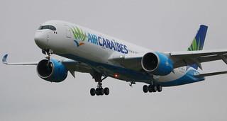 AIRBUS A350-900XWB AIR CARAIBES F-HNET
