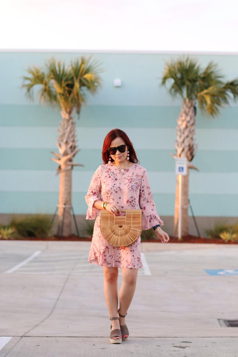 pink-dress-cult-gaia-wooden-ark-bag-wedge-sandals-9
