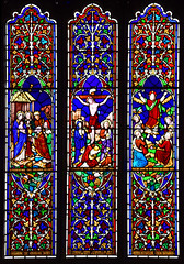 Adoration, Crucifixion, Ascension
