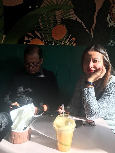 edinburgh  - yen, Hula Juice Bar