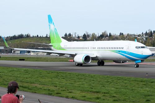 Boeing 737-8AL(WL) Saudi Aramco N801XA LN6353