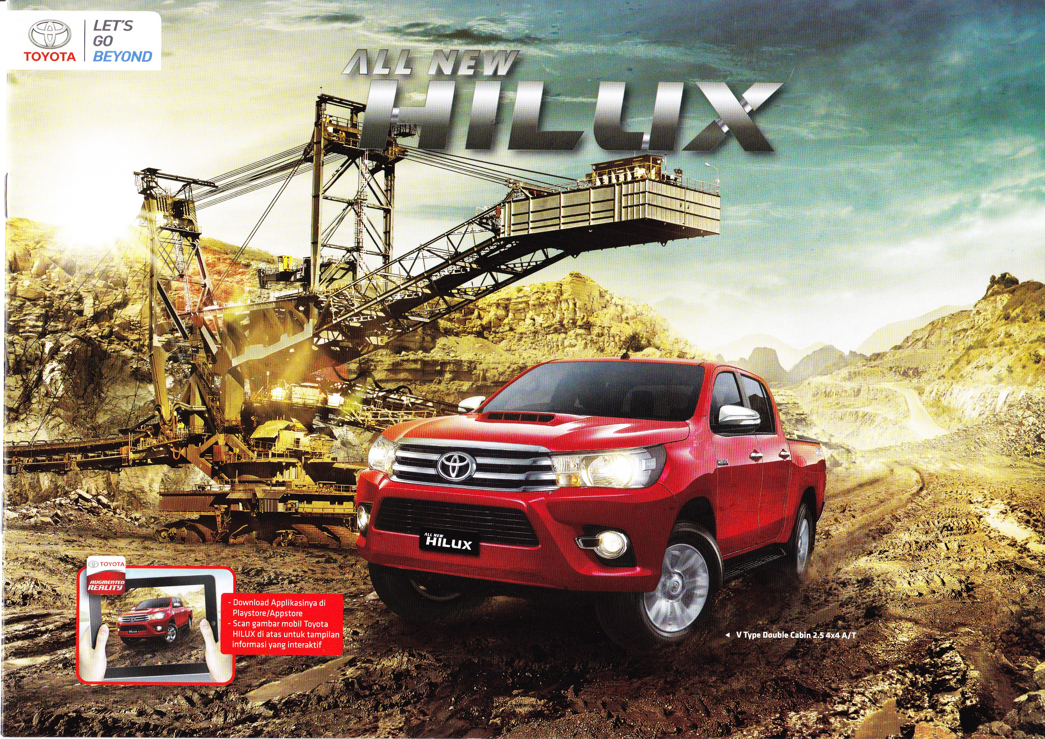 Brosur Mobil Toyota Hilux Jakarta