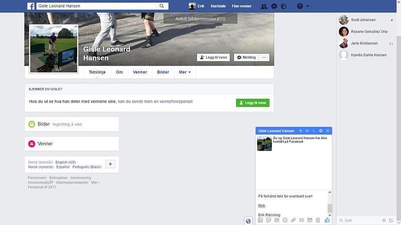 gisle leonard hansen facebook