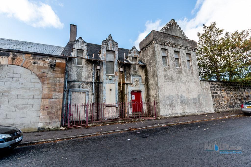 whitehaugh barracks  paisley