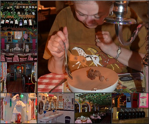 Restaurants Italian Near Me: Birthday Collage At Buca Di Beppo
