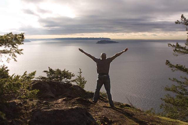 Week 106 chemo complete: Good morning Bowen Island!