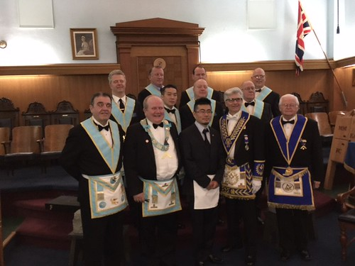 2017 02 01 Fraternal Visit to Burlington Lodge No. 165
