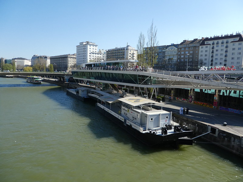 Along the Danube in Vienna