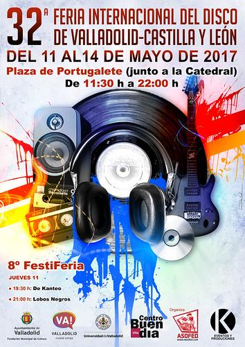 32ª Feria Intencional del Disco de Valladolid Castilla y León