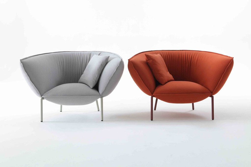 Comfortable modern sofa and lounge Chair by Luca Nichetto for Coedition Sundeno_11