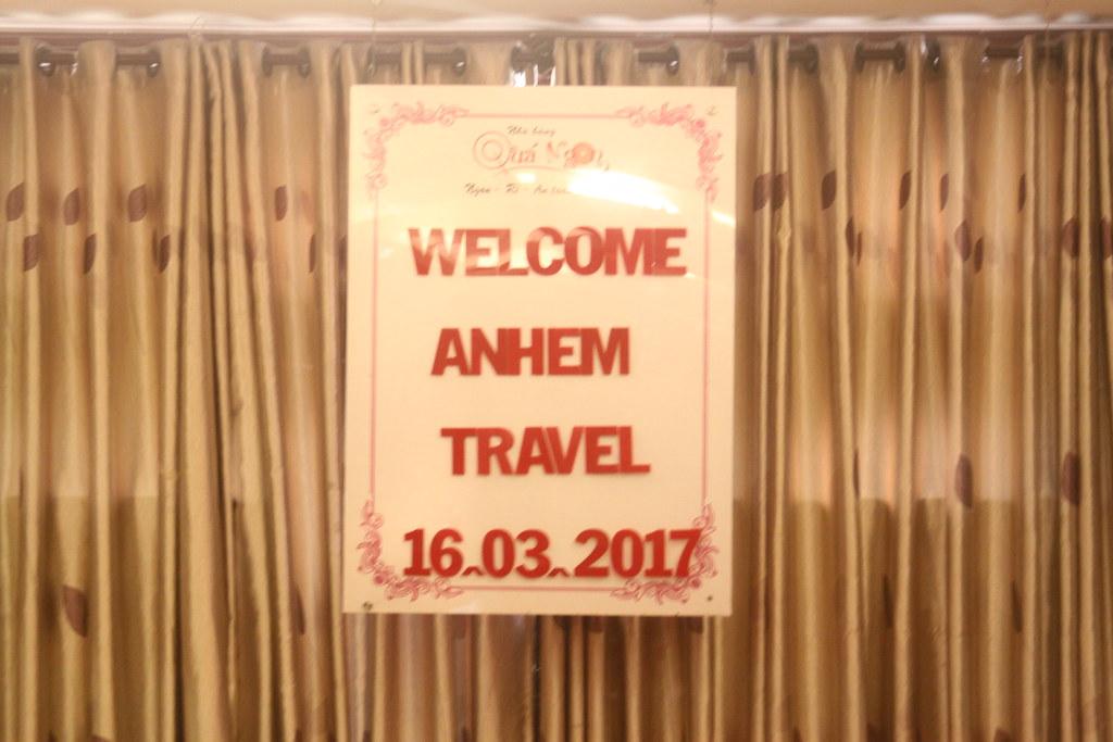 Tiệc đón khách đoàn Anh Em Travel 16.03.2017