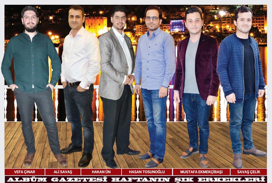 Vefa Çınar, Ali Savaş, Hakan Ün, Hasan Tosunoğlu, Mustafa Ekmekçibaşı, Savaş Çelik