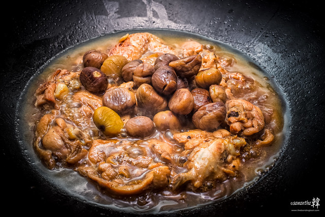 20170411 Home-cooked Stewed Chicken With Chestnuts 4859