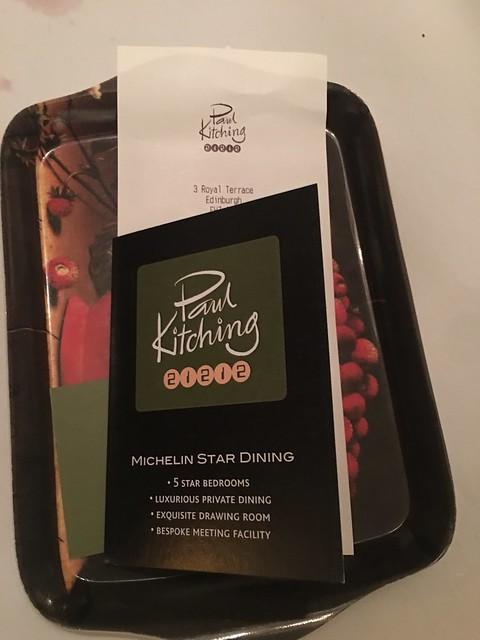 Michelin 088 Paul Kitching 21212,  food bill
