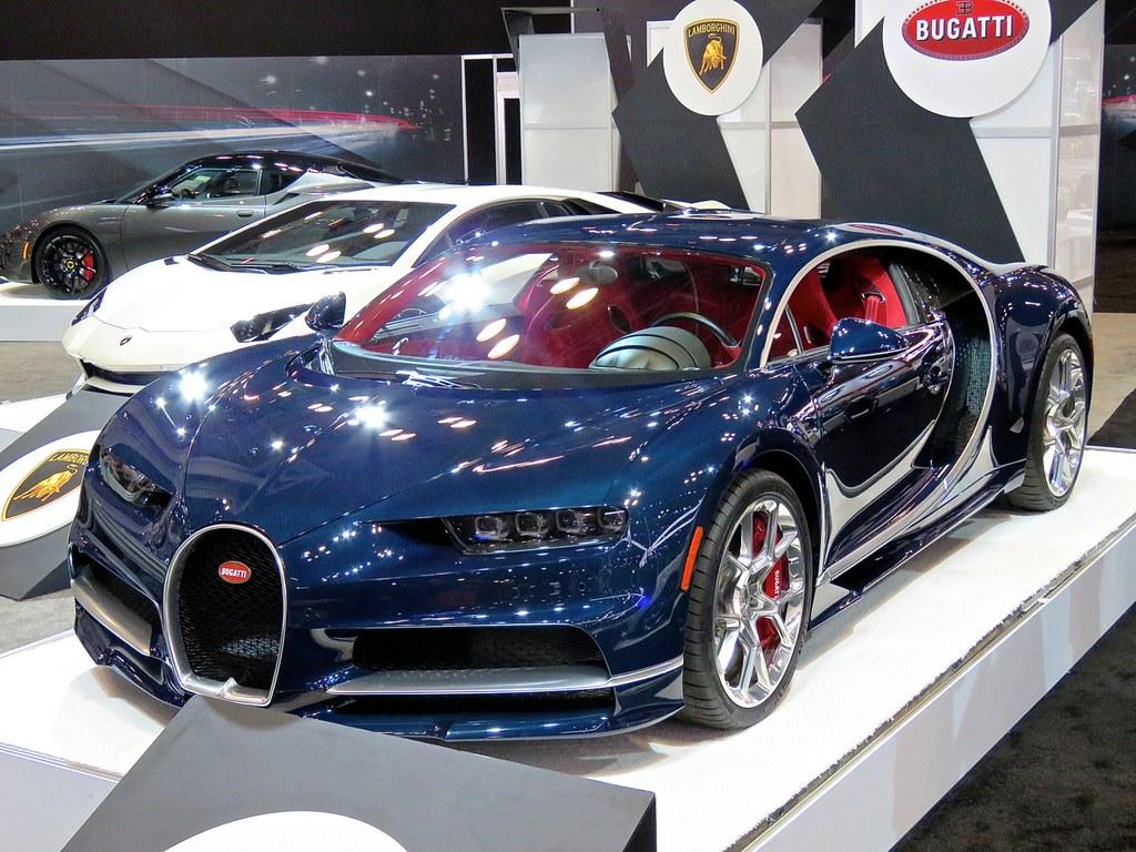 Bugatti Chiron NYIAS 9