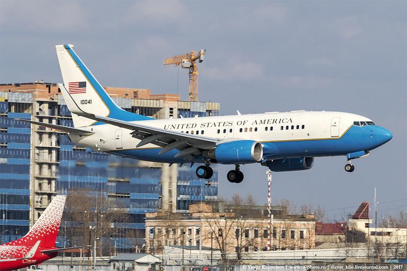 USAF Boeing C-40 01-0041