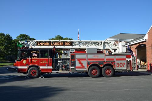 C O Mm Fire Rescue Ladder 307 307 Ladder Quint Pierce
