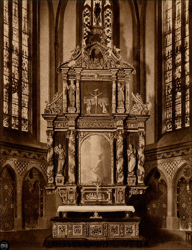 belgard in pommern marienkirche altar bia ogard pomorze z flickr. Black Bedroom Furniture Sets. Home Design Ideas