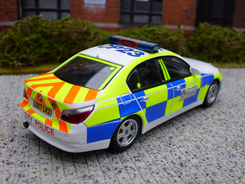 ... 1/43 Code 3 BMW 5 Series City Of London Police ARV Model | By