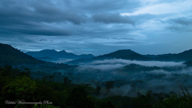 Landscape at Badulla