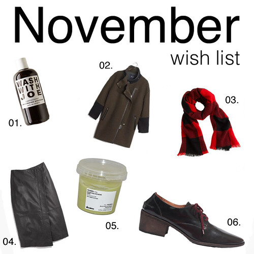 November Wish List | by Célèste of Fashion is Evolution