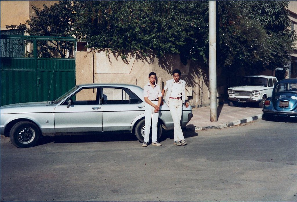 my granada 2 0 l mk i mod 1975 and my nephewsin cairo h flickr