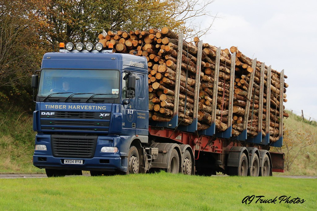RCF Timber Harvesting MX04RYA A96 Barmuckity A9 Truck Photo S